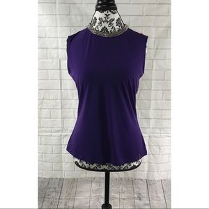 Calvin Klein Purple Blouse